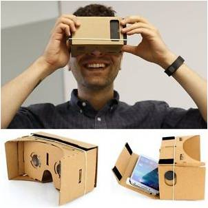 Virtual reality with cardboard and smart phone